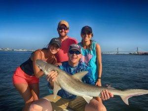 September Shark Fishing in Charleston